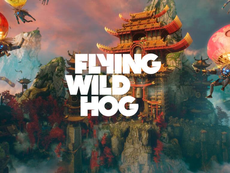 Image promoting Flying Wild Hog